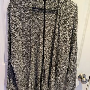 Marled Open Cardigan/Duster